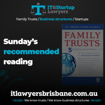 IT and Startup Lawyers - Family Trusts