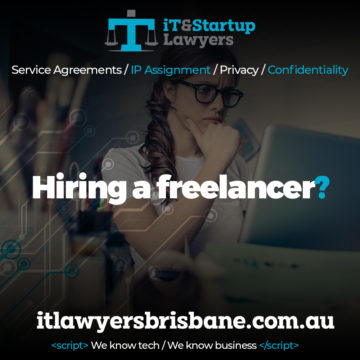 IT and Startup Lawyers - Hiring a Freelancer