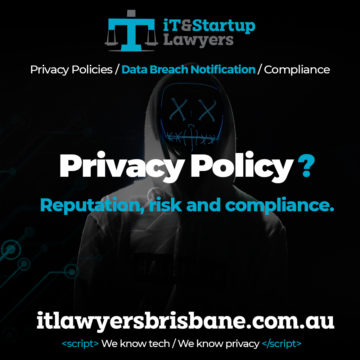 IT and Startup Lawyers - Privacy Policy