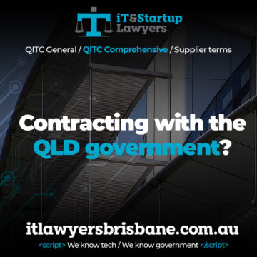 IT and Startup Lawyers - QITC Agreements