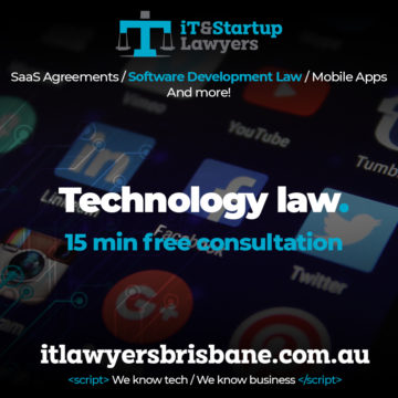IT and Startup Lawyers - Technology Law